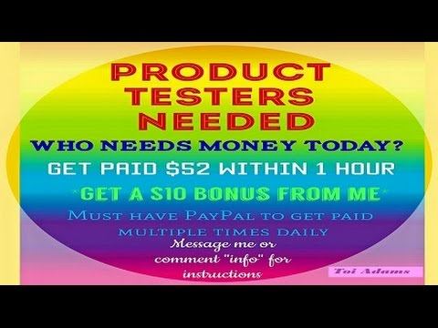 Paradise Freebies How to Sign Up - Product Tester Referral Agents ...