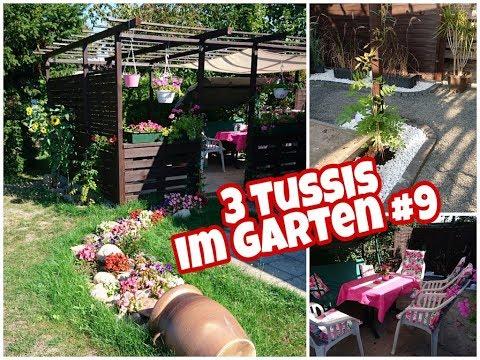 Die neue Terrasse ist fertig! I 3 Tussis im eigenen Garten! Vlog Folge 9