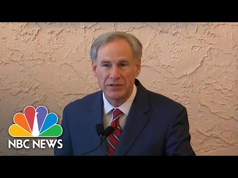 Texas Governor: 'Removing State Mandates Does Not End Personal Responsibility' | NBC News NOW