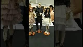 Куклы с выставки на тишинке