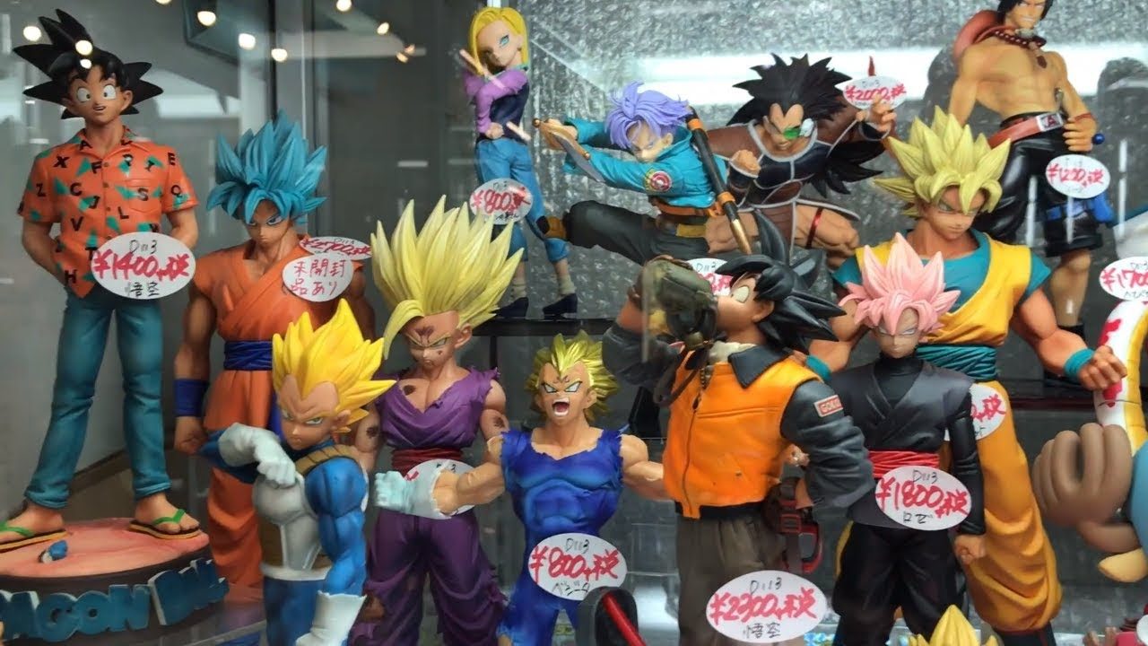 Anime Figurák Tömkelege Nakano Broadway Tokyo - YouTube