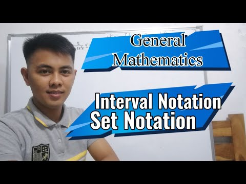 General Mathematics : Solutions of Inequality | Interval Notation and Set Notation- tagalog tutorial thumbnail