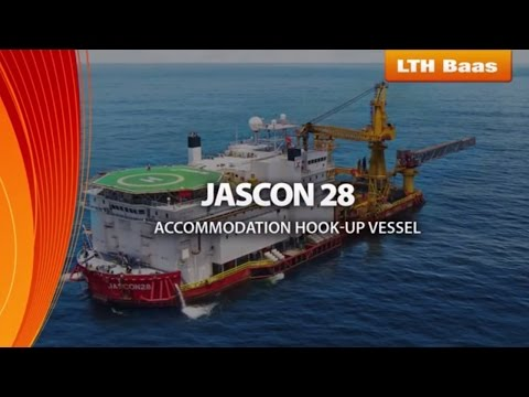 JASCON28 - interior, galley and pipeline refurbishment by LTH-Baas Ltd