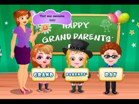 Baby Games Baby Hazel Games Baby Hazel Grandparents Day Youtube