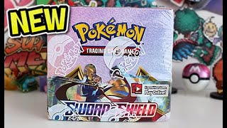 *EARLY* Pokemon Sword & Shield Booster Box Opening