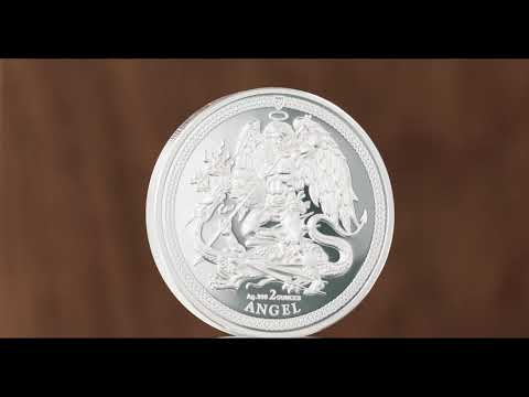 1 Angel Piedfort 2018 Isle of Man