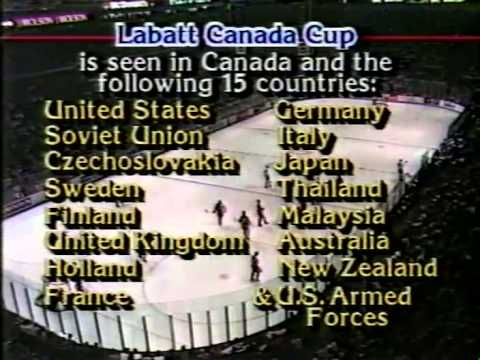 1987 Canada Cup Game 2 canada vs ussr (montreal forum)