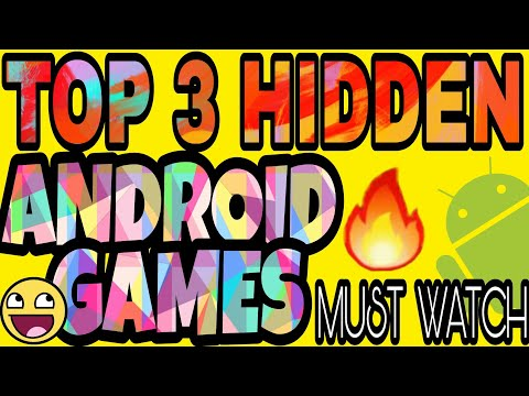 Top 3 HIDDEN android games that are very interesting. # cloudy TECH