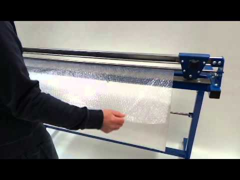 bubble wrap cutter youtube. Black Bedroom Furniture Sets. Home Design Ideas