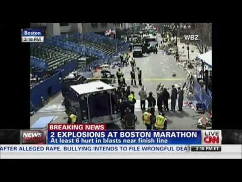 CNN Breaking News Coverage of the 2013 Boston Marathon Bombings