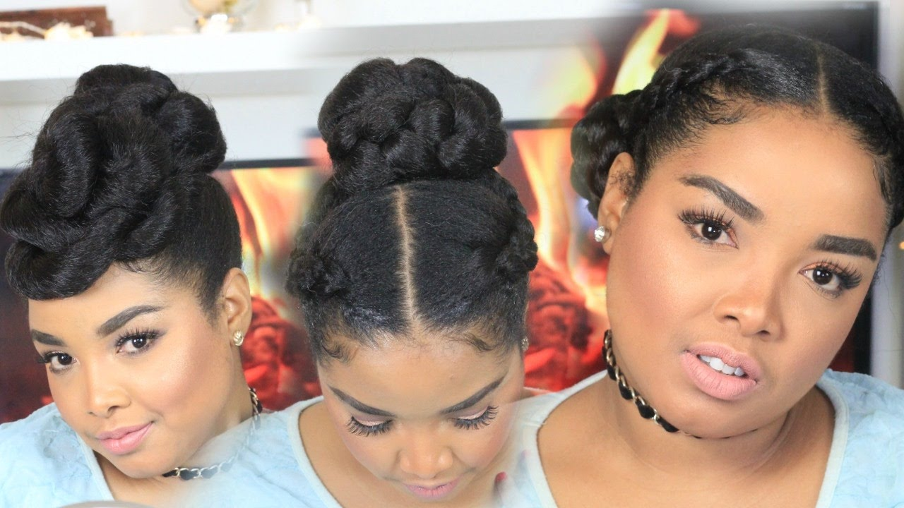 Simple Protective Hairstyles For Natural Hair