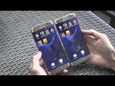 So sánh Galaxy S7 Edge Snapdragon và Exynos chính hãng