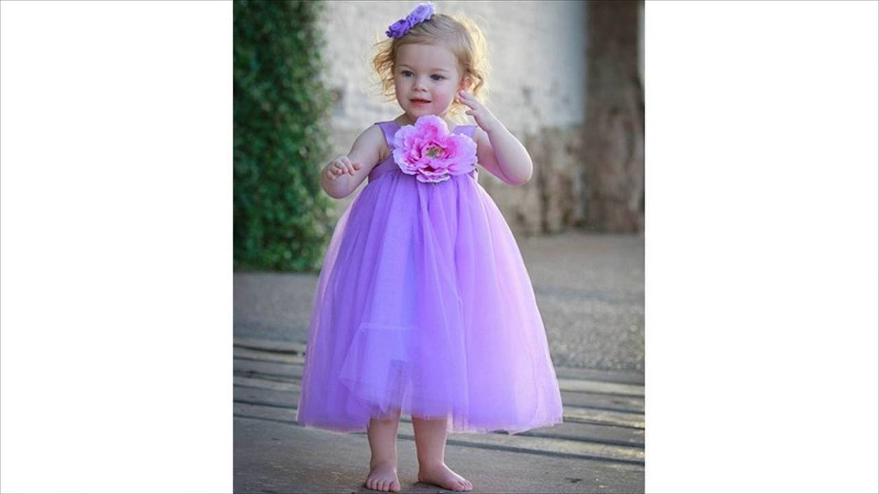 Flower Girl Long Dress Kids Wedding Dress
