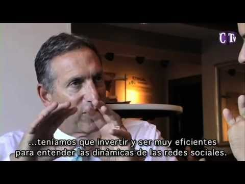 Entrevista a Howard Schulzt, presidente de Starbucks Coffee