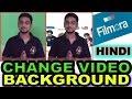 How to Change Video Background in Filmora in Hindi | Filmora Tutorial | Green Screen Effect