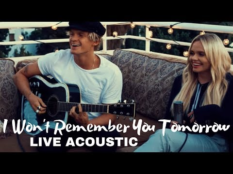 "Alli Simpson (feat. Cody Simpson) - ""I Won't Remember You Tomorrow"" Live & Acoustic"