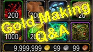 WoW Legion Easy Gold Making Q&A #1 - Garrison Guide & Class Order Hall (World of Warcraft Gold Guide