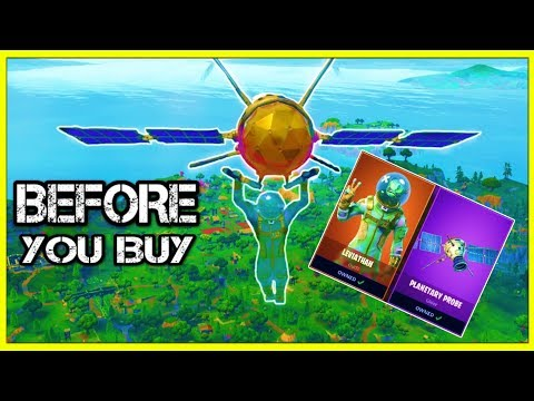 LEVIATHAN | PLANETARY PROBE - Before You Buy (Fortnite!) | *NEW* LEGENDARY Skin & Glider!