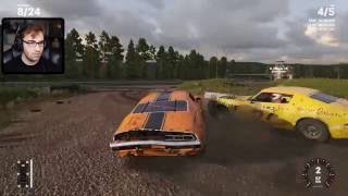 DESTRUINDO CARROS - Next Car Game: Wreckfest com BRKsEDU! (Early Access Gameplay)