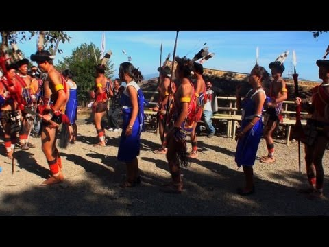 Dance of the Lotha Nagas from Nagaland