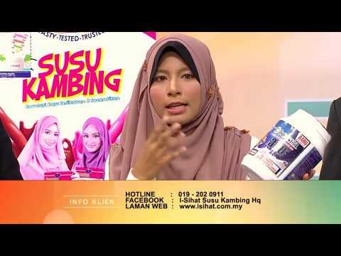 i-SIHAT Susu Kambing di TV - B'frenz Full 2.9.2017