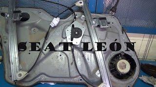 Cambio elevalunas Seat león (power windows repair)HD