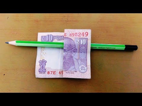 Pencil And Note Magic Trick