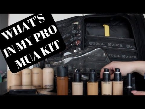 What's in my Freelance Professional Makeup Kit 2018