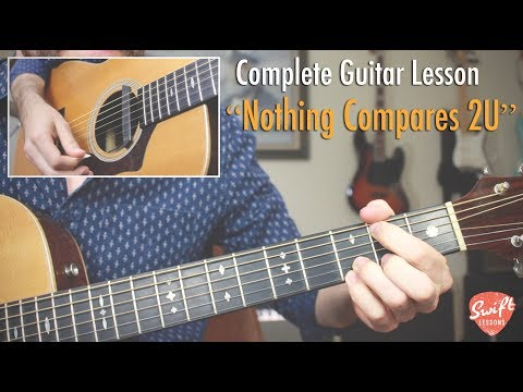 """Nothing Compares 2U"" Guitar Lesson- Chris Cornell Version"