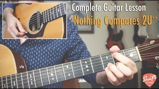 Nothing Compares 2U Guitar Lesson - Chris Cornell Version