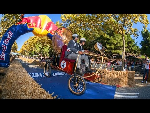 DIY Soapbox Chaos in Barcelona | Red Bull Soapbox 2015