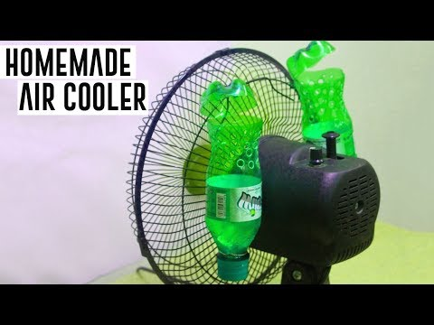 Thumbnail: How To Make Air Cooler at Home Using Plastic Bottle - Simple Life Hacks by HackRoom