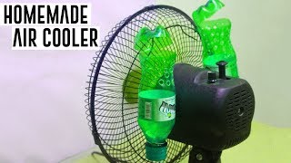 How To Make Air Cooler at Home Using Plastic Bottle -  Simple Life Hacks by HackRoom
