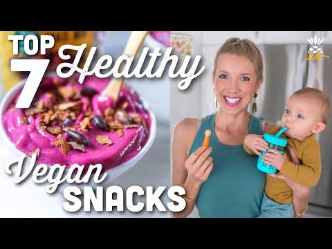 Top 7 Healthy Vegan Snacks | Whole Foods & Packaged