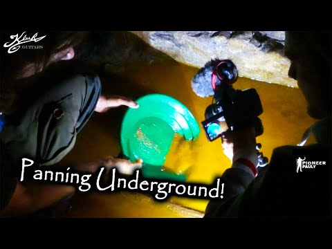 Why Are We Gold Panning In A Cave?