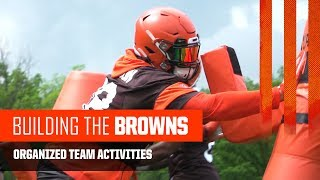 building the browns 2019 organized team activities cleveland browns