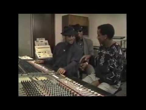 James Samuel Harris III Terry Steven Lewis in the studio (1980s)