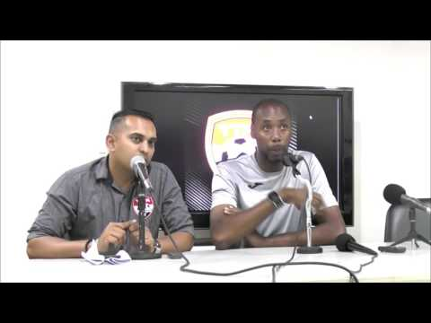Post Match Comments  with Dennis Lawrence after 2-0 win over Barbados