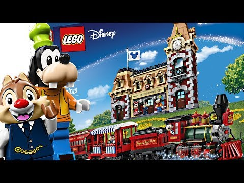 LEGO Disney Train And Station - Finally, LEGO GOOFY!