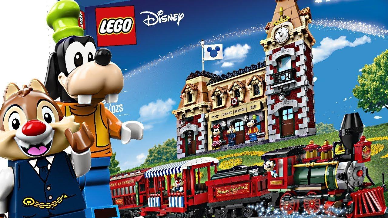 LEGO Disney Train and Station - Finally, LEGO GOOFY!