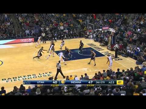 Utah Jazz vs Indiana Pacers   October 31, 2015   NBA 2015-16 Season