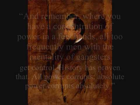 Lord Acton - A Very Wise Man Indeed..wmv