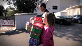 The LAPD Joins Forces with Operation Christmas Child