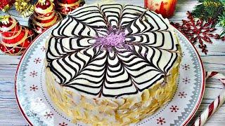 Знаменитый торт ЭСТЕРХАЗИ с миндально белковыми коржами удешевлённый вариант безумно вкусно