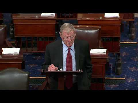 Inhofe Speaks about Tax Reform and Iran on the Senate Floor