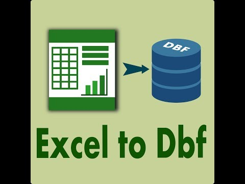 Excel To Dbf