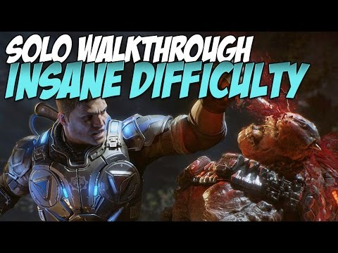 Gears of War 4 Insane Walkthrough Solo | Act 5, Chapter 2: Killing Time