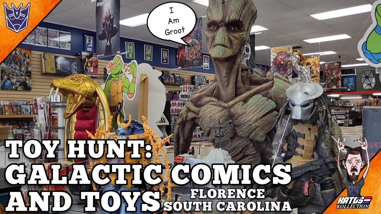 Toy Hunt and Tour of Galactic Comics and Toys by Kato's Kollection