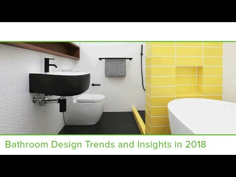 Houzz Bathroom Design Trends & Insights 2018