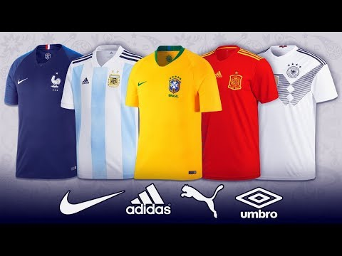 All Teams Kits FIFA World Cup II Russia 2018 II